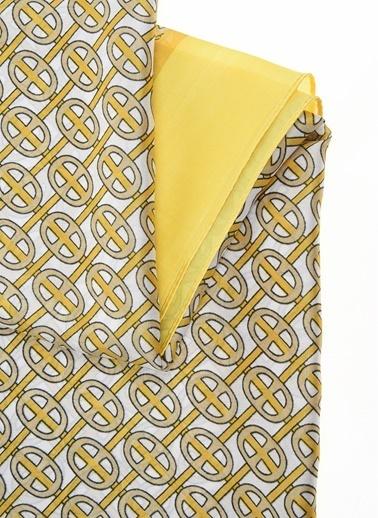 NGSTYLE Desenli Şal Sarı